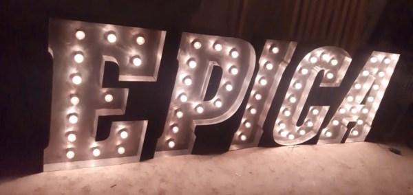 Буквы с лампами Jazzlight