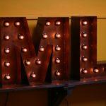 Буквы из металла Jazzlight