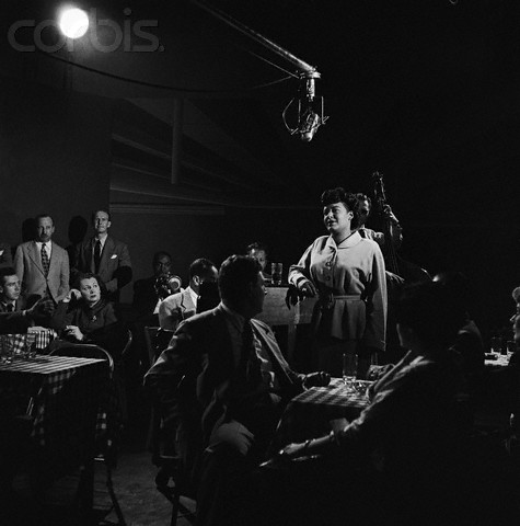 Billie Holiday on the Eddie Condon Floor Show, 1948, by Genevieve Naylor