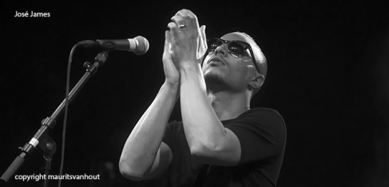 José James live op Gent Jazz 2013