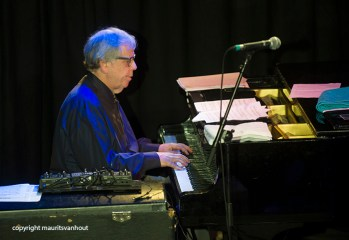 Kenny Werner live in Mijke en Co live. Copyright Maurits van Hout