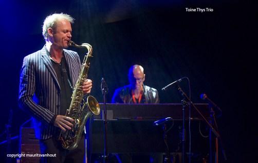 Toine Thys Trio tijdens Gent Jazz 2015