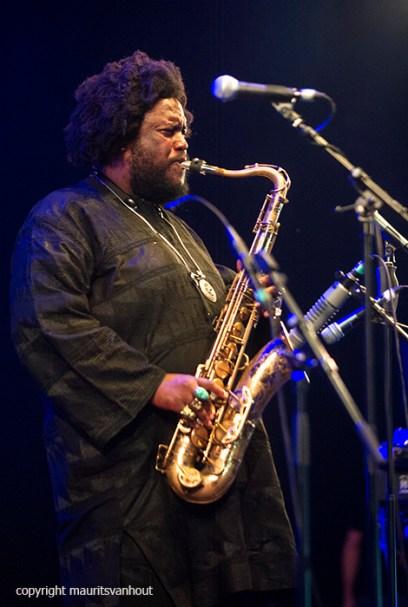 Kamasi Washington live at Gent Jazz 2016