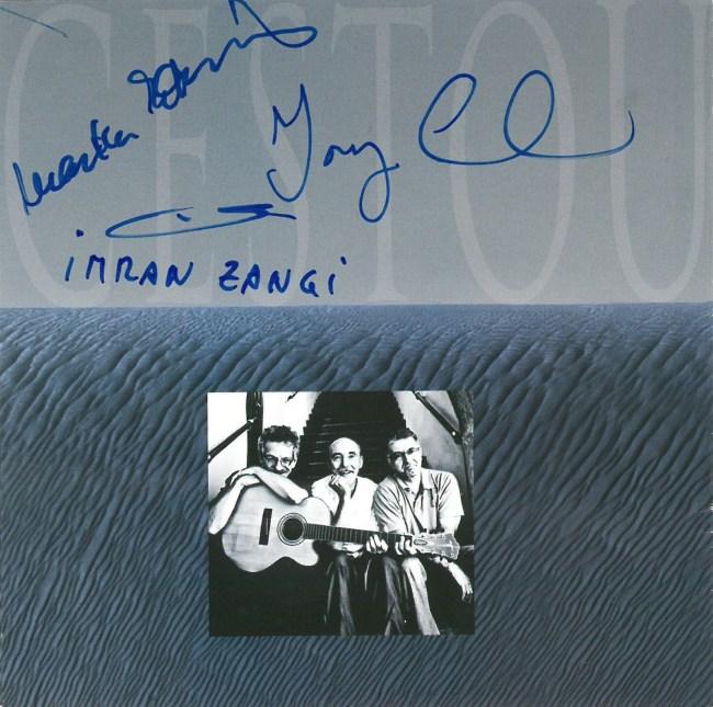 Podpísaný booklet - CD Cestou