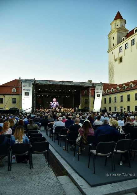 One Day Jazz Festival - nádvorie Bratislavského hradu