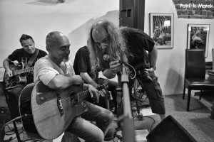 Žhavé blues v podání fotografa Jindřicha Oplta a kapely B.B.Band