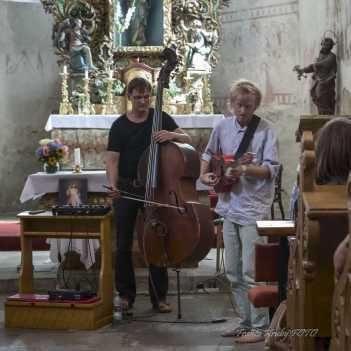 Petr Tichý a Jono Bono Heyes