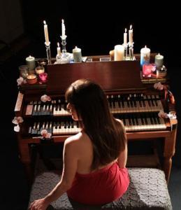 Varhanní groovy Jocelyn Michelle v mexické kantýně