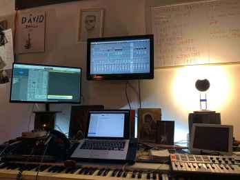 home studio - práce na novém albu