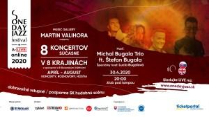 One Day Jazz Festival štartuje v roku 2020 špeciálnymi online koncertami