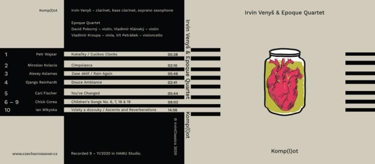 IRVIN VENYŠ & EPOQUE QUARTET: Komp(l)ot