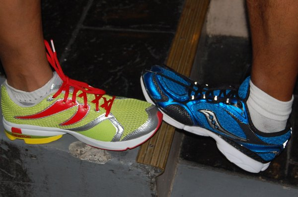 The Forefoot and Jazzrunner's shoes