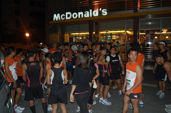 Kenny Rogers at McDonalds