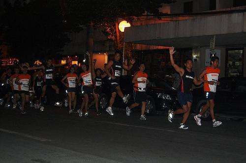 Starting the run