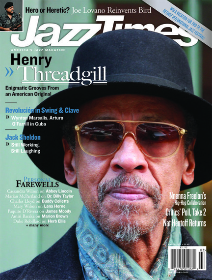 JazzTimes March 2011 cover