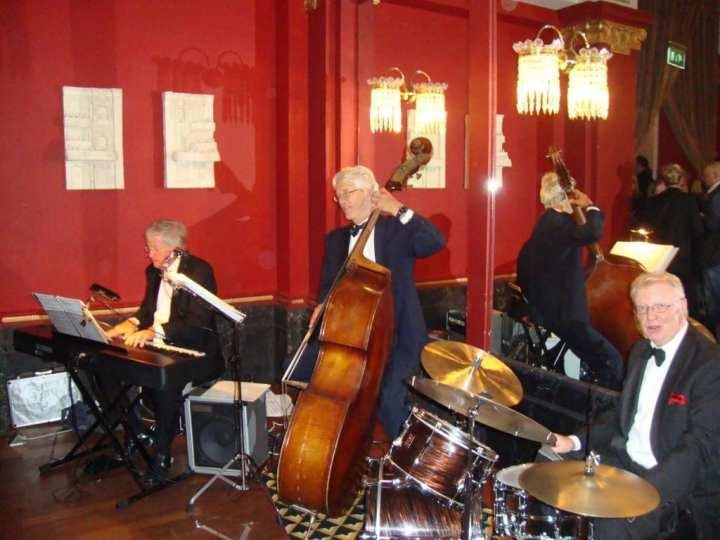 JazzTraffic in aktie bij een 25 jarig huwelijksfeest