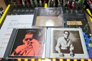 ジャズアルバム 左マイルス・デイヴィス 右ビル・エヴァンス 上ベストヒット