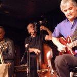 「イリジウム・ジャズ・クラブ」ライブの一コマ。2010年ニューヨーク・マンハッタンにて。