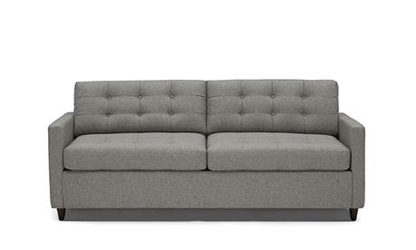 pink sofa dating uk corner lounge with recliner and bed custom furniture modern home decor joybird hughes eliot sleeper