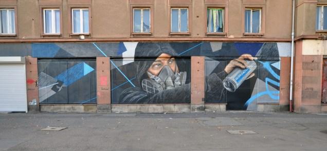 """Tagger"" by JBAK, Chemnitz DE"