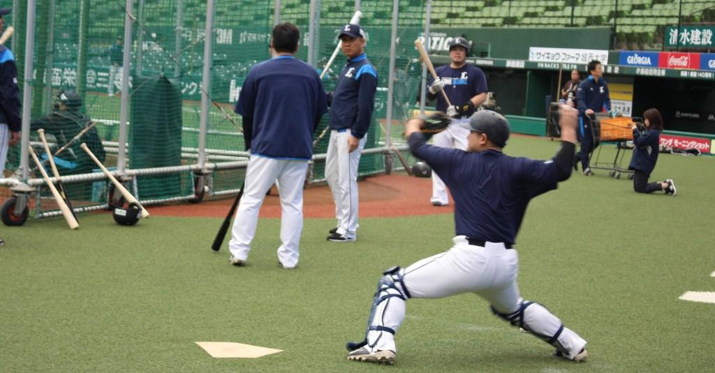 Tomoya Mori throw