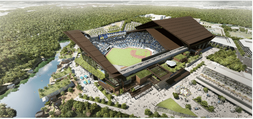 Fighters announce new stadium to be known ES CON Field Hokkaido