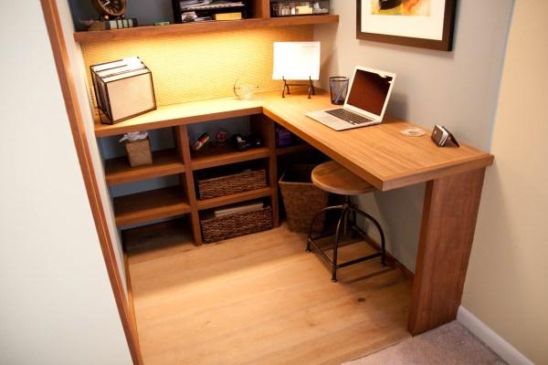 Closet Office Design Ideas