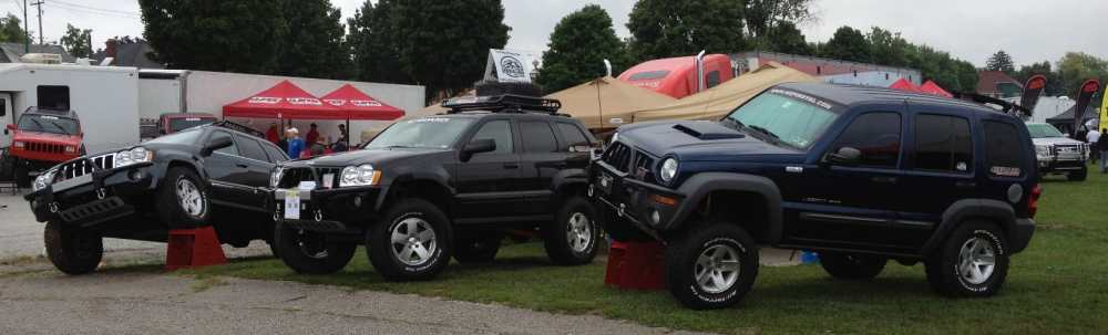 medium resolution of jeeps at pa jeep show jeep grand cherokee