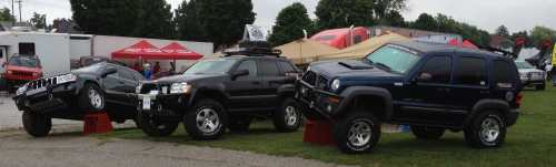 small resolution of jeeps at pa jeep show jeep grand cherokee