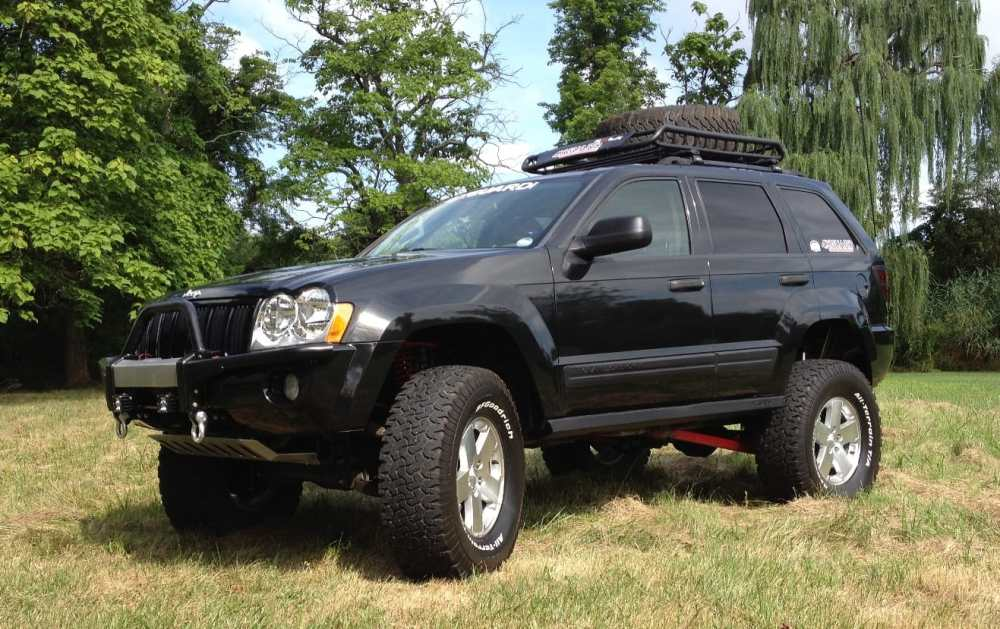 medium resolution of jeep grand cherokee w 8 lift kit