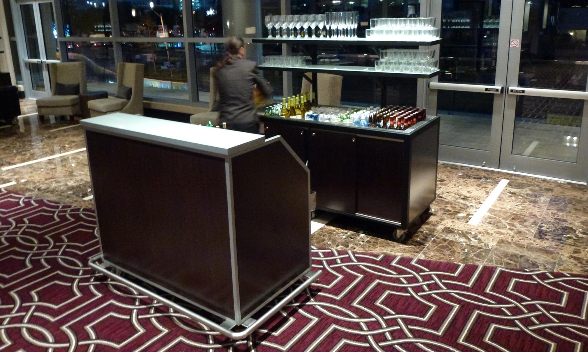 Banquet Bars  J Bar Brand by Larry Jordan