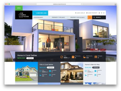 real-places-modern-real-estate-theme