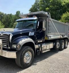 2012 mack gu713 dump truck [ 2016 x 1512 Pixel ]