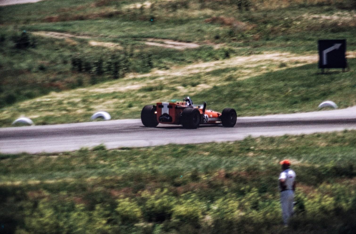 Open Wheel Race Car - 1961