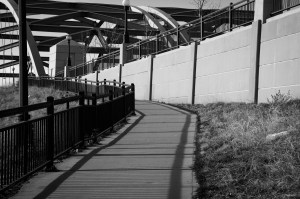 Sidewalk to Bridge
