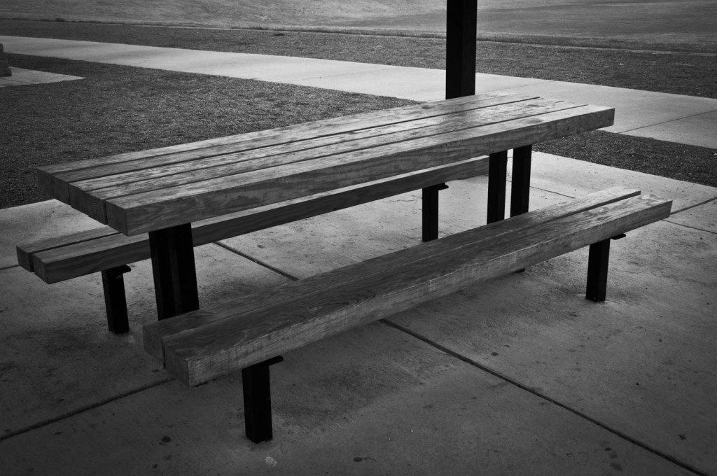 Park Table & Benches