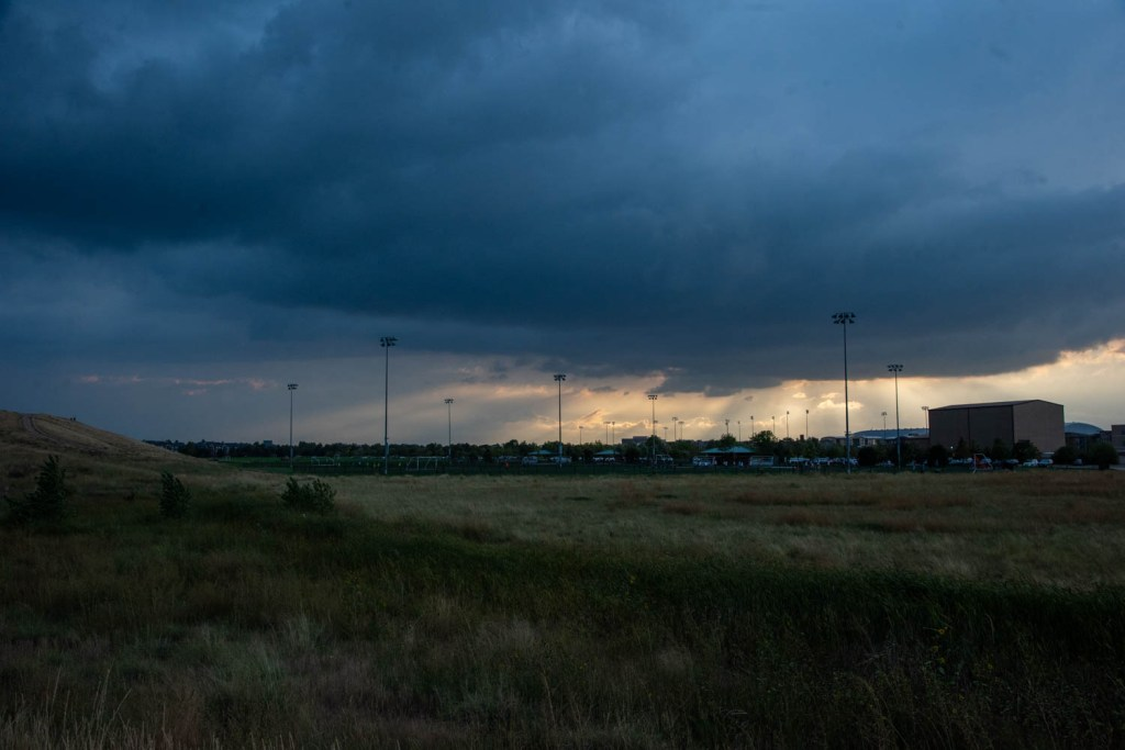 Storm Clouds over Sports Park