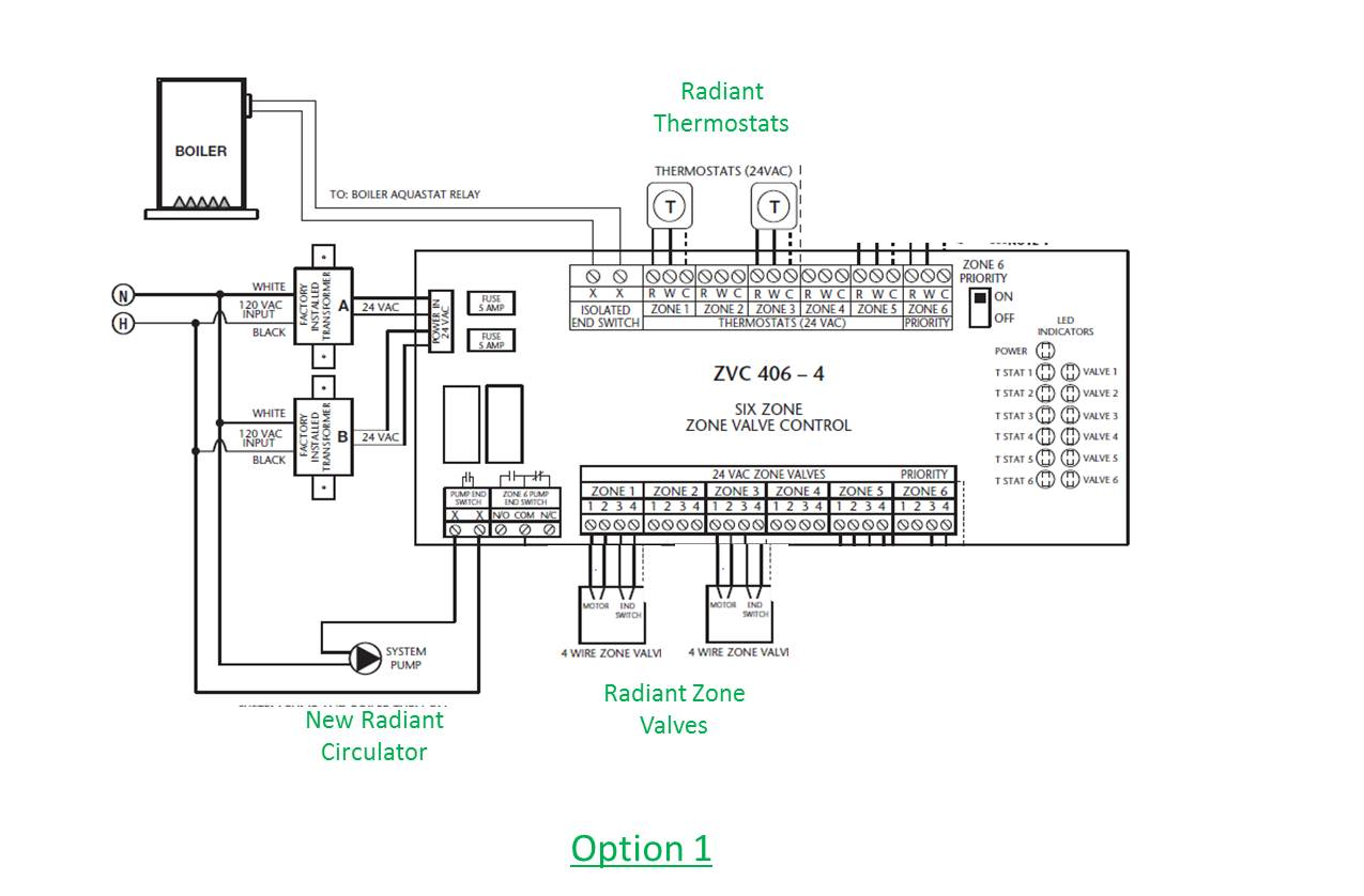 hight resolution of how to wire a system circulator to a taco zone valve control zvctaco 4 zone wiring