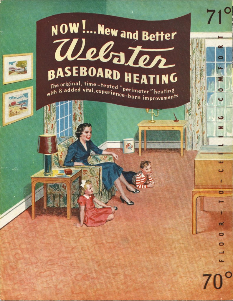 medium resolution of it was new fangled the warren webster company s webster baseboard heating system
