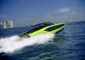 ランボルギーニ製のスーパーボートを見てみよう…そのデザインはどこから見てもランボルギーニ