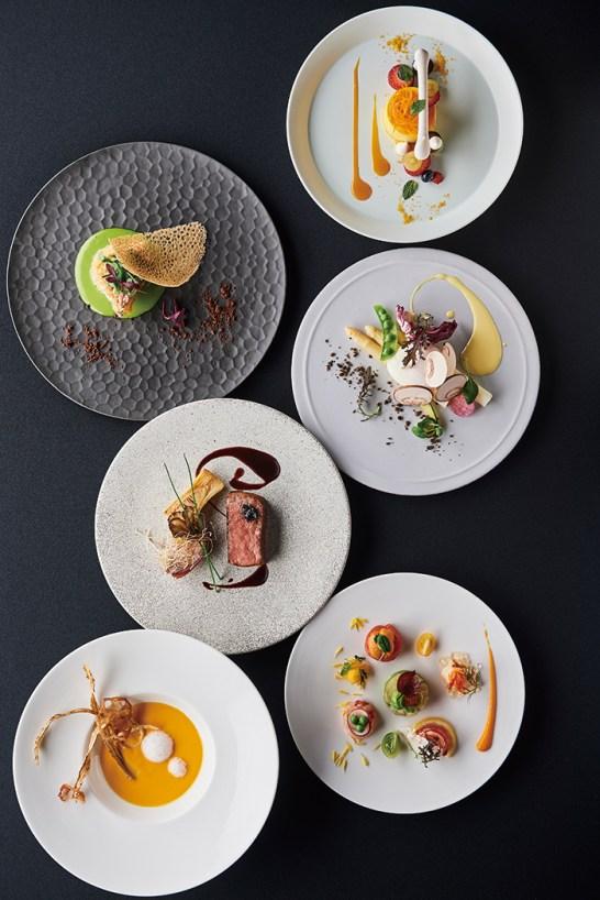 フレンチ×和のフュージョンを大切に、山形の大地で育まれた食材を駆使した料理で、ゲストの皆様に最上級のおもてなしを提供