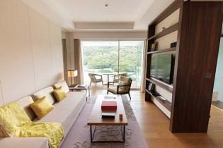 イギリスの「G|A|DESIGN INTERNATIONAL社」のインテリアで統一された55㎡の客室「ラグジュアリールーム」