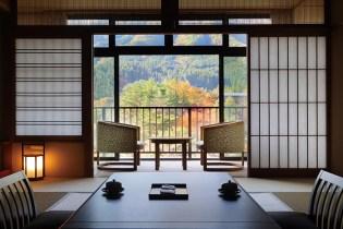 木の香に満ちた12畳の和室。全室禁煙となっている