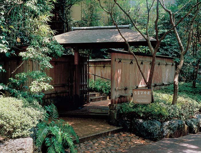 東京紀尾井町のなだ万本店「山茶花荘」。世界の賓客をもてなす趣のある空間だ