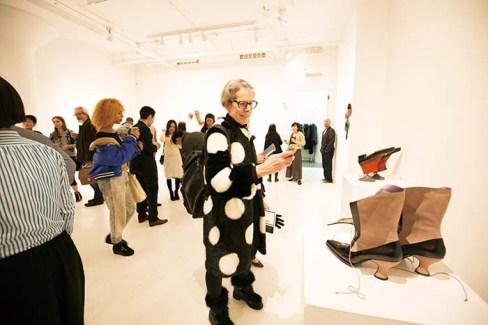 2017年、世界のアートの中心地であるニューヨーク・チェルシー地区での個展の様子。三澤氏の作品は現地でも高い評価を受け、ギャラリーのオープン以来史上最高となる観客動員数を記録した