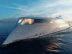 水素燃料で7000キロ航行! Sinotが豪華ヨットのコンセプトを発表
