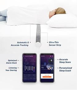 睡眠を分析して呼吸をコーチング!快適な眠りに導く睡眠管理デバイス「Respio Sleep Coach」が画期的