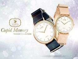 NFCとQRでプロポーズ!愛を伝える腕時計「Cupid Memory Watch」
