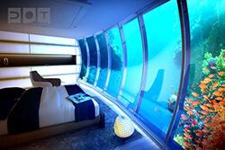ドバイの海中ホテルが凄い!ウォーター・ディスカス・ホテルは水中の楽園