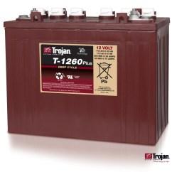 6v Rv Battery Wiring Diagram Of The Spine And Vertebrates Jb Carts New 12v Trojan T1260 Batteries